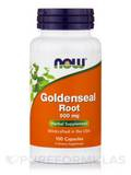 Goldenseal Root 500 mg 100 Capsules