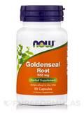 Goldenseal Root 500 mg 50 Capsules