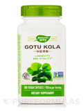Gotu Kola Herb 475 mg - 180 Capsules
