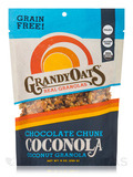 Grain Free Chocolate Chunk Coconola (Coconut Granola) - 9 oz (255 Grams)