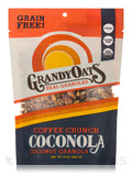 Grain Free Coffee Crunch Coconola (Coconut Granola) - 9 oz (255 Grams)