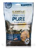 Grain Free Pure Heaven Treats for Dogs with Duck and Chickpeas - 30+ Treats Per Bag (11 oz / 311 Gra