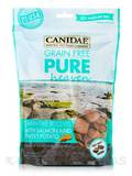 Grain Free Pure Heaven Treats for Dogs with Salmon and Sweet Potato - 30+ Treats Per Bag (11 oz / 31