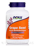 Grape Seed 100 mg 200 Vegetarian Capsules