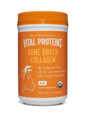 Bone Broth Collagen (Grass-Fed, Organic) - Unflavored Beef - 10 oz (280 Grams)