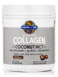 Grass Fed Collagen Coconut MCT Powder, Chocolate - 14.81 oz (420 Grams)