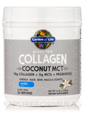 Grass Fed Collagen Coconut MCT Powder, Vanilla - 14.39 oz (408 Grams)