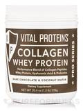 Collagen Whey Protein, Dark Chocolate & Coconut Water - 20.4 oz (578 Grams)
