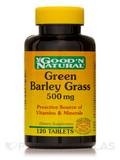 Green Barley Grass 500 mg 120 Tablets