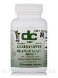 Green Coffee Bean Extract 800 mg 90 Vegetable Capsules