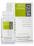 Green Coffee Bean 1234 60 Vegetarian Capsules