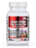 Green Coffee Bean Extract Plus African mango with Mood Support 60 Vegetarian Capsules