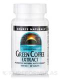 Energizing Green Coffee Extract 500 mg 30 Tablets