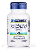 Green Coffee Extract (Coffeegenic) 200 mg 90 Vegetarian Capsules