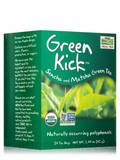 NOW® Real Tea - Green Kick Tea Bags - Box of 24 Packets