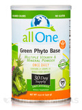 Green Phyto Base (Multiple Vitamin & Mineral Powder), Unflavored - 15.9 oz (450 Grams)