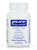 Green Tea Extract (decaffeinated) 120 Capsules
