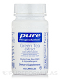 Green Tea Extract (decaffeinated) 60 Capsules