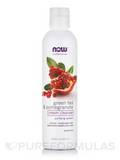 NOW® Solutions - Green Tea Pomegrante Cream Cleanser Purifying Cleanser - 8 fl. oz (237 ml)