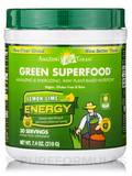 Green SuperFood® Lemon-Lime Energy Powder - 30 Servings (7.4 oz / 210 Grams)