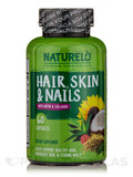 Hair, Skin, and Nails with Biotin and Collagen - 60 Capsules