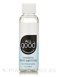 Hand Sanitizer Gel - Unscented - 2 fl. oz (60 ml)