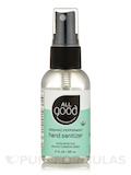 Hand Sanitizer Spray - Organic Peppermint - 2 fl. oz (60 ml)
