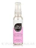Hand Sanitizer Spray - Rose Geranium - 2 fl. oz (60 ml)