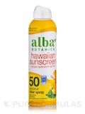 Hawaiian Sunscreen SPF 50 Coconut Clear Spray - 6 oz (171 Grams)