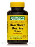 Hawthorn Berries 565 mg 100 Capsules