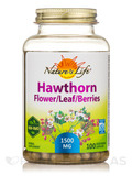 Hawthorn Flower/Leaf/Berries - 100 Vegetarian Capsules