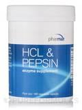 HCl & Pepsin 180 Vegetarian Capsules