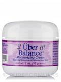 Uber Balance Moisturizing Cream (Essential Balance for Women and Men) 2 oz (56 Grams) Jar