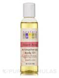 Heart Song Aromatherapy Body Oil Sweet Rose Aroma 4 fl. oz (118 ml)