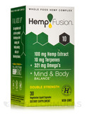 Hemp Extract 10 (100 mg of Hemp Extract) - 30 Vegetarian Liquid Capsules
