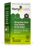 Hemp Extract 20 (200 mg of Hemp Extract) - 30 Vegetarian Liquid Capsules