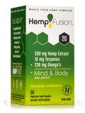 Hemp Extract 20 (200 mg of Hemp Extract) - 30 Vegetarian Liquid Capsules