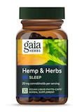 Hemp & Herbs - Sleep 20 mg - 30 Vegan Liquid Phyto-Caps
