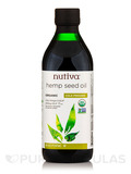 Organic Hemp Seed Oil (Cold-Pressed) - 16 fl. oz (473 ml)