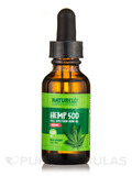 Hemp Oil Drops 500 mg, Organic - 1 fl. oz (30 ml)