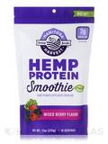Hemp Protein Smoothie, Mixed Berry Flavor - 11 oz (312 Grams)