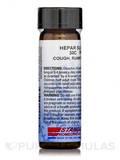Hepar Sulphuris Calcareum 30C 0.25 oz (160 Pellets)