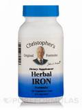 Herbal Iron Formula - 100 Vegetarian Capsules