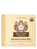 Herbal Lotion Bar, Coconut Lemon - 1.9 oz (53.9 Grams)