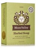 Herbal Soap Bar, Sage - 4 oz (113.4 Grams)