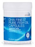 DHA Finest Pure Fish Oil, Natural Orange Flavor - 90 Soft-Gel Capsules