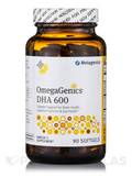 OmegaGenics® DHA 600 Concentrate Lemon Flavor - 90 Softgels