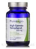 High Gamma Tocopherol 200 mg 30 Softgels
