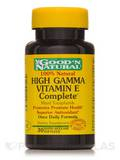 HIGH GAMMA Vitamin E Complete - 30 Softgels