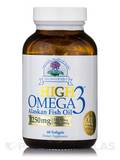 High Omega-3 Alaskan Fish Oil 1250 mg - 60 Softgels